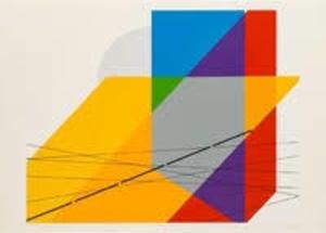 "Luigi VERONESI - 版画 - TAVOLA NR. 10 ""Sviluppo nr.4"""