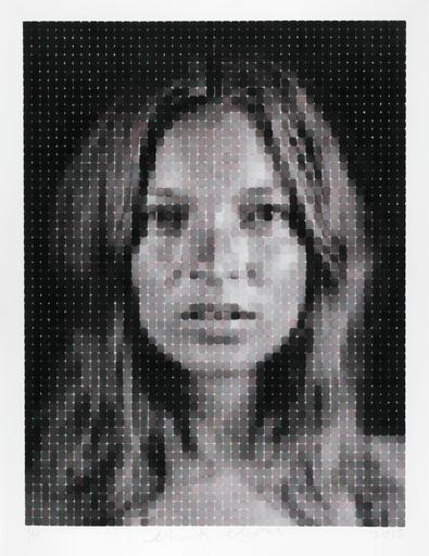 Chuck CLOSE - Stampa-Multiplo - Kate