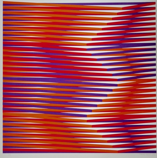 Carlos CRUZ-DIEZ - Estampe-Multiple - Couleur Additive