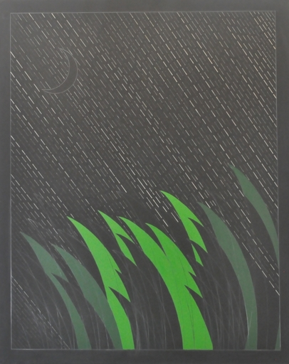 Franco ANGELI - Pittura - Pioggia