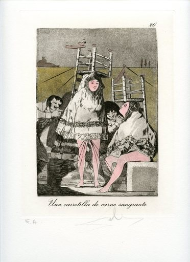 萨尔瓦多·达利 - 版画 - GRAVURE 1977 SIGNÉ AU CRAYON EA ML873 HANDSIGNED EA ETCHING