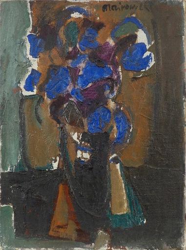Zvi MAIROVITCH - Painting - Flower Still Life 1