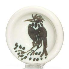Pablo PICASSO - Ceramic - Oiseau à la huppe
