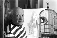 René BURRI - Fotografia - Pablo Picasso, Villa Californie, France