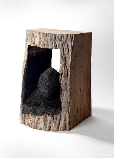David NASH - Sculpture-Volume - Philosophers Stone