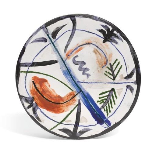 Pablo PICASSO - Keramiken - Décor informel XVI