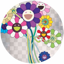 Takashi MURAKAMI (1962) - Purple Flowers in a Bouquet