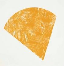 艾尔斯沃茲‧凱利 - 版画 - Untitled (Orange, State I)