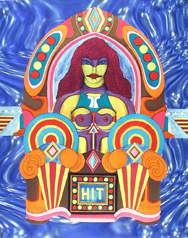 Richard LINDNER - Stampa Multiplo - Hit