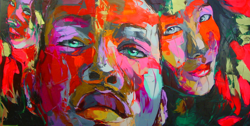 Françoise NIELLY - Painting - Untitled 489
