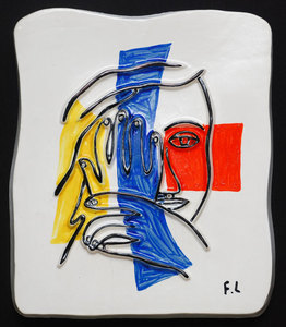 Fernand LÉGER, Visage aux deux mains (Face with Two Hands)