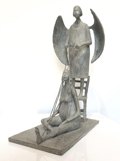 Lucette BRANDY - Sculpture-Volume - L'ange Gardien