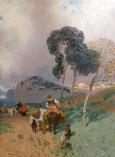 Edoardo DALBONO - Painting - Capo miseno