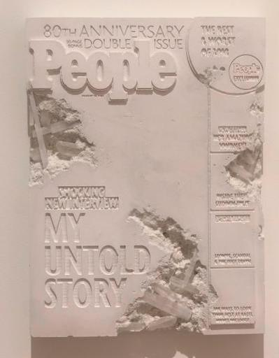 Daniel ARSHAM - Scultura Volume - Selenite Eroded People Magazine