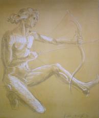 Raffaele MONDAZZI - Painting - Cupido