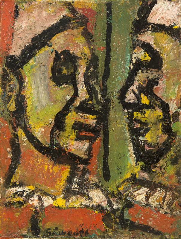 Georges ROUAULT - Peinture - Face à face