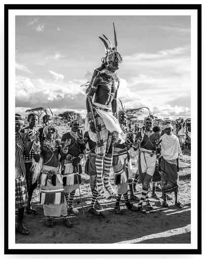 Mario MARINO - Photography - Moran Dancer, Africa, 2018.