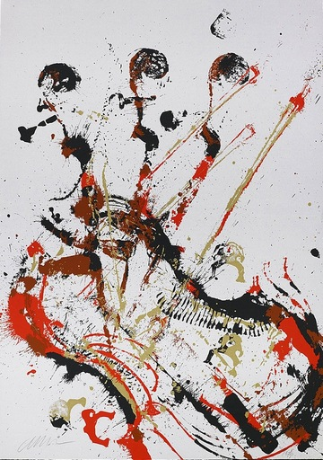 Fernandez ARMAN - Print-Multiple - Melody for Strings II