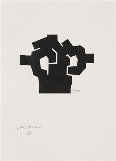 """Eduardo CHILLIDA - Stampa-Multiplo - """"Aischylos:die perser I"""""""
