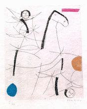马里诺•马里尼 - 版画 - Tout Pres De Marini Plate VII A137