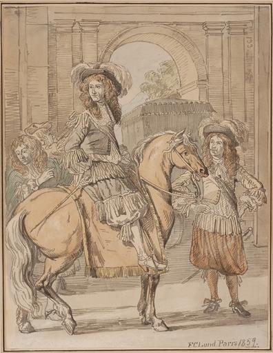 Frederick Christian LUND - Dessin-Aquarelle - Illustration, Paris 1859