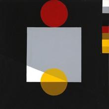 Joël STEIN - Painting - Rouge de matin