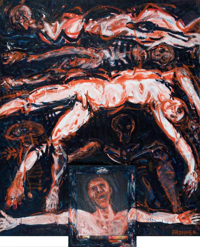Adolf FROHNER - Painting - So war es