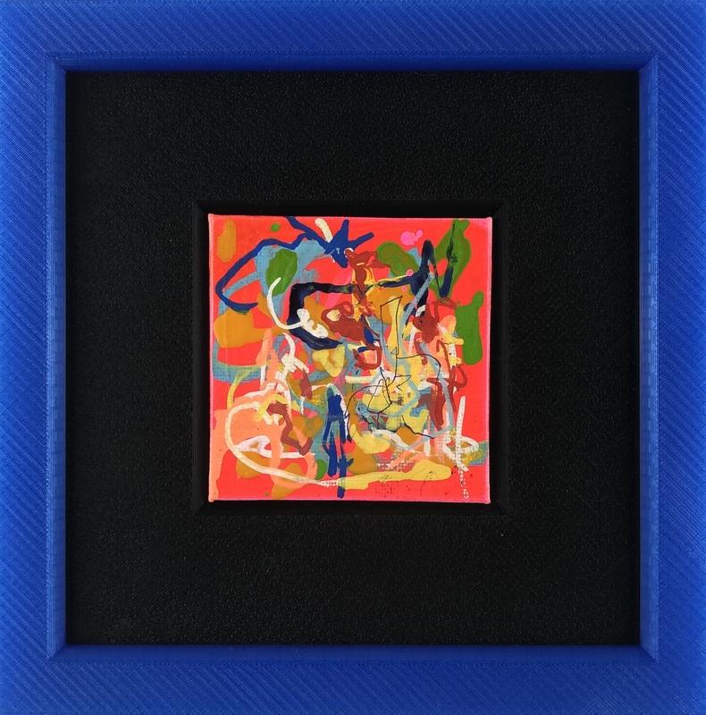 Nicole LEIDENFROST - Gemälde - Orange Feeling