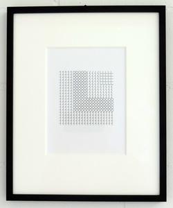 Véra MOLNAR - Disegno Acquarello - 1,0,LL