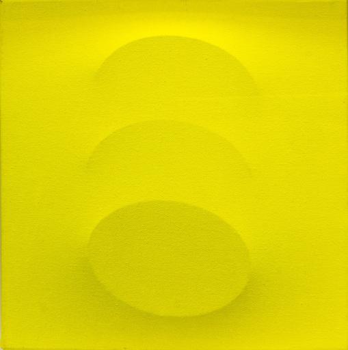 Turi SIMETI - Peinture - Tre ovali gialli