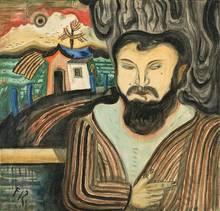 Franz RADZIWILL - Painting - Bildnis eines Mannes