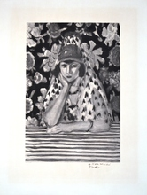 Henri MATISSE - Drawing-Watercolor - L'Espangol
