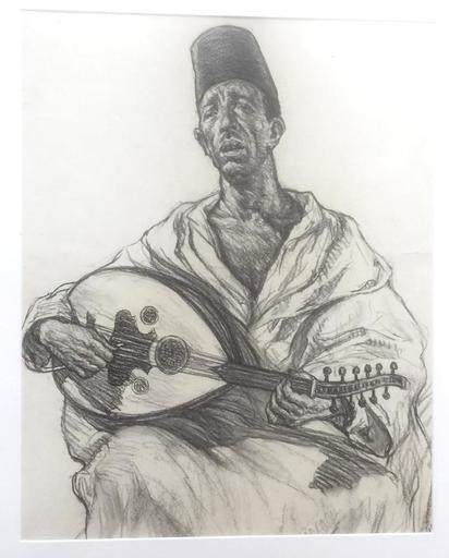 Aarón BILIS - 水彩作品 - Abdou Derouich – Egypt