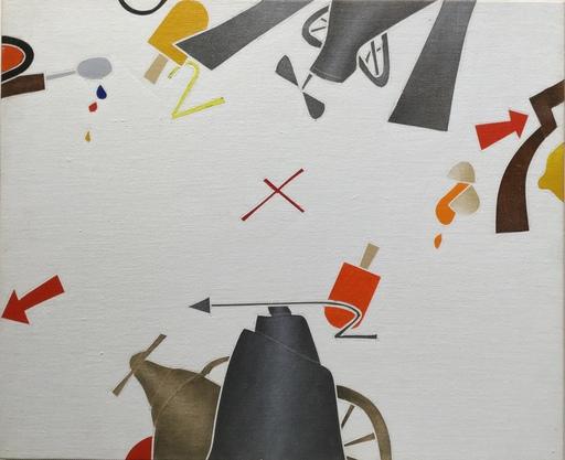 Emilio TADINI - Pintura - Figura