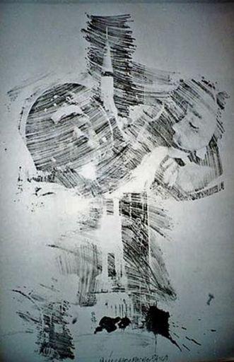 Robert RAUSCHENBERG - Stampa Multiplo - Stoned Moon