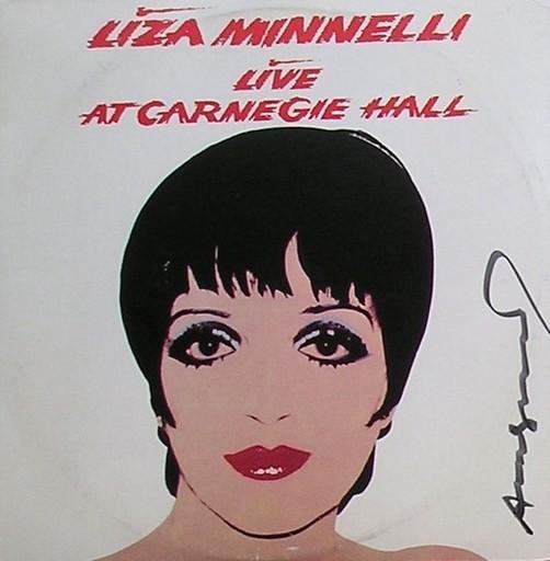Andy WARHOL - Grabado - Liza Minnelli
