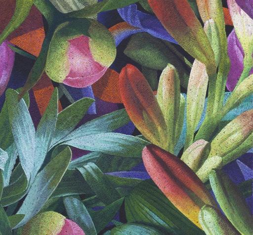 Yves CLERC - Painting - N°381