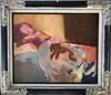 Jorge CASTILLO - Pintura - Señora con su mascota
