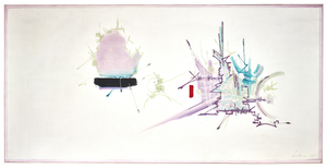Georges MATHIEU - Pittura - Theophanie