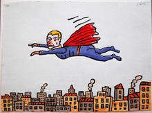 Antonio SEGUI - Print-Multiple - Super Heros