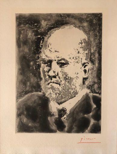 Pablo PICASSO - Stampa-Multiplo - Portrait de Vollard III