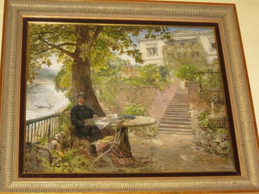 Carl BÖKER - Pintura - Villa Ahrweiler, Heidelberg
