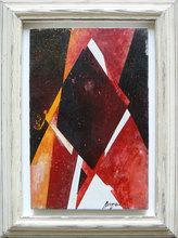 Piero RUGGERI - Pintura - Studio per un interno NF175