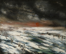Maurice DE VLAMINCK - Pintura - Paysage d'hiver