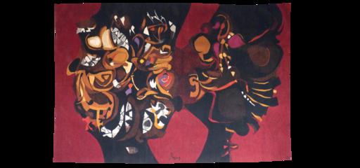 Mario PRASSINOS - Tapestry - Roméo et Juliette