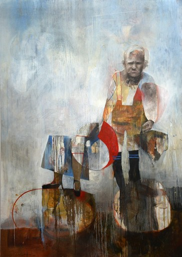 Fiona ACKERMAN - Painting - Out Far and in Deep