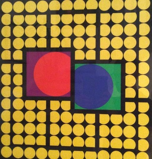 Victor VASARELY - Stampa Multiplo