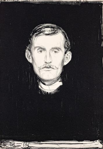 Edvard MUNCH - Print-Multiple - Self-portrait
