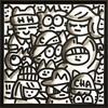 CHANOIR - Pittura - Black Black White Chas