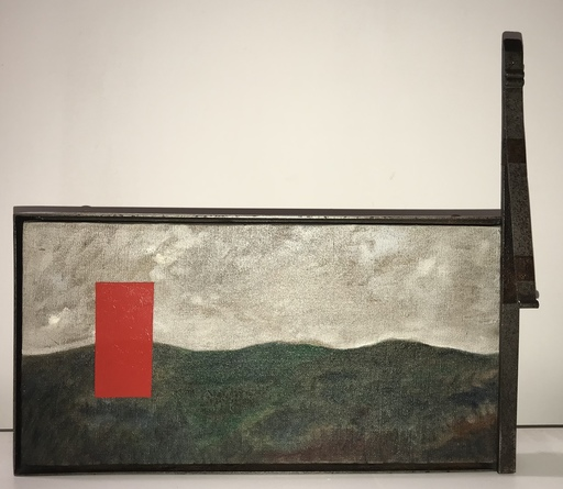 Mimmo PALADINO - Painting - La battaglia
